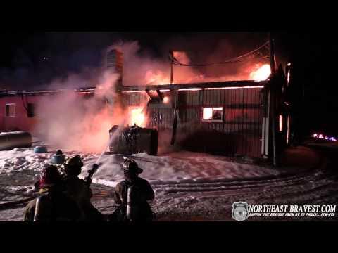 ALLEN TOWNSHIP, PA BARN FIRE