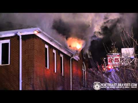 FRANKLIN TOWNSHIP, NJ 3RD ALARM BUILDING FIRE