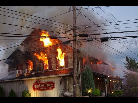 2ND Alarm; Buckeye Tavern Structural Fire; Lower Macungie, PA. 05.12.15