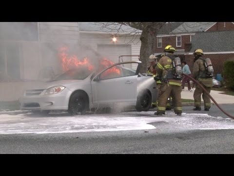 Working Car Fire; Whitehall, PA. | 04.08.15