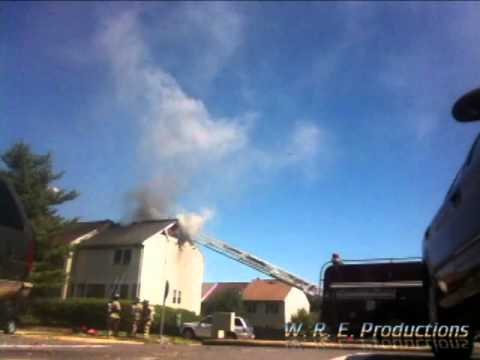 Townhouse Fire Manassas, VA 9 6 13