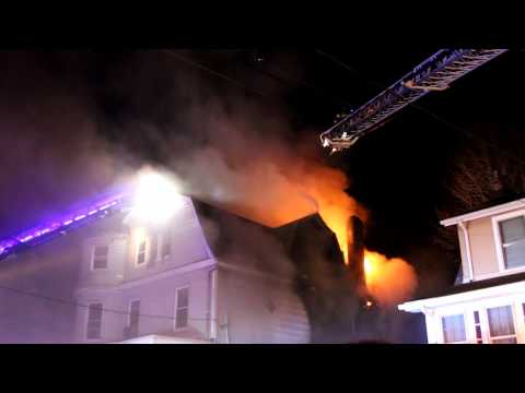 Cliffside Park, NJ Fire 40 Oakdene Ave 4-21-15