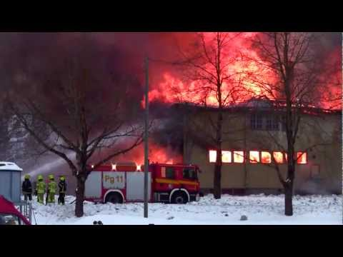 Structure fire in Pargas/Parainen, Finland