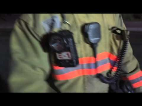 Las Vegas Multi-Alarm fire, engine company operations