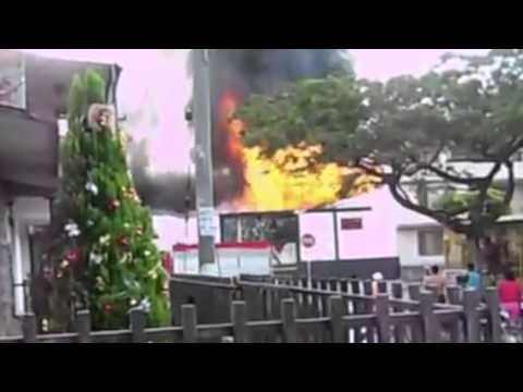 Burn it down B8 Producciones dedicatoria a Hector Saldarriaga