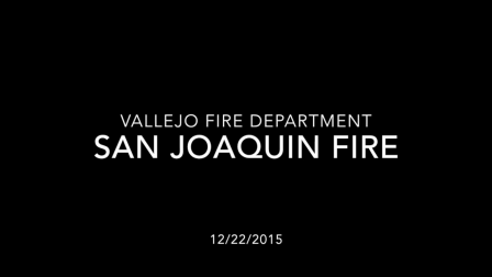 Vallejo Fire Department Helmet Cam Structure Fire
