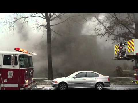 Rockville, Maryland, Two-Alarm House Fire