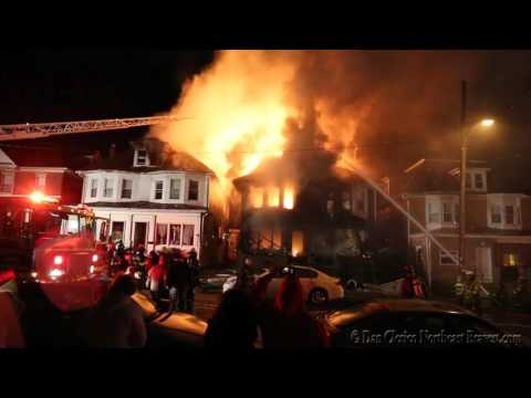 WILSON BOROUGH, PA MULTIPLE ALARM HOUSE FIRE