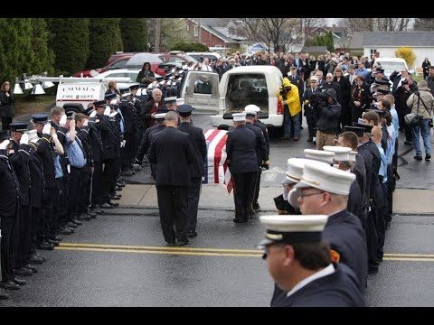 Fire Chief Robert Benner Funeral Tribute   Whitehall, PA.