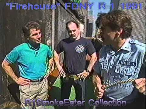 """Firehouse"" 1991 FDNY Part  3 of 3 Rope Rescue"