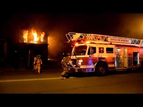 Buffalo Fire Department : 643 Fillmore Ave