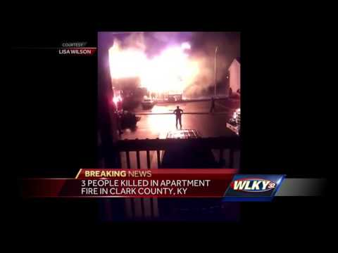 Three Dead in Kentucky Apartment Fire