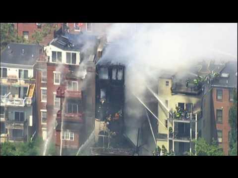 Boston, Charlestown Multiple-Alarm Fire