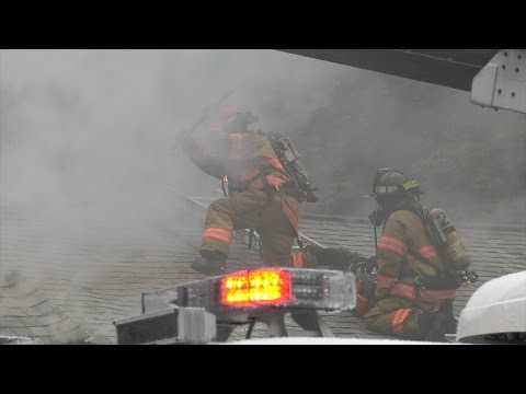 American Legion 2nd Alarm Fire in Whitehall, PA 07/25/16
