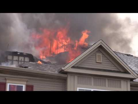 Upper Macungie Strikes 3 Alarms fo Windswept Apartment Fire   10 9 16