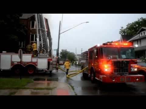 Detroit Commercial Box Alarm:  1654 Elsmere St