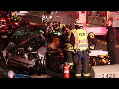 PALMER TOWNSHIP, PA MVA WITH RESCUE