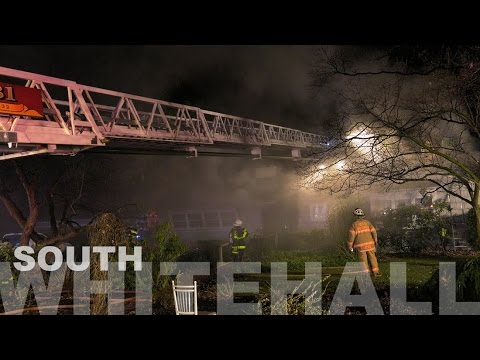 House fire with entrapment in South Whitehall, PA 12.26.16