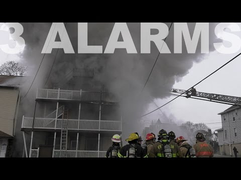 3-Alarm fire guts apartment building in Lehighton, PA 01.09.17