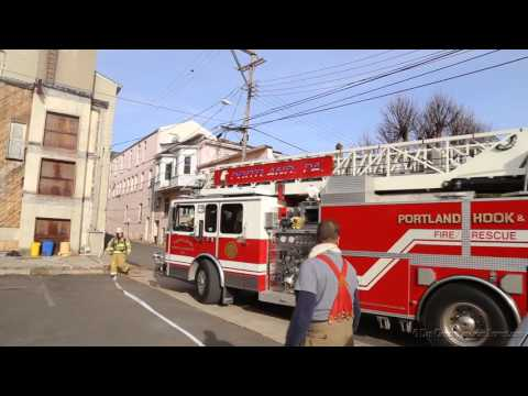 BANGOR, PA APARTMENT BUILDING FIRE