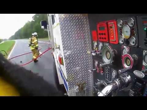 Virginia Helmet Cam: Engine Driver's View