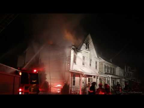 EASTON, PA W. LINCOLN ST. HOUSE FIRE