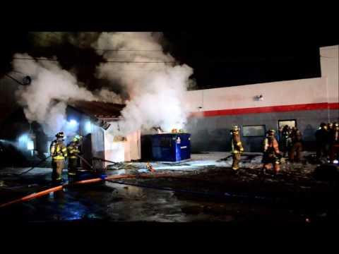Cleveland Hill FD Garage Fire - 3811 Harlem rd