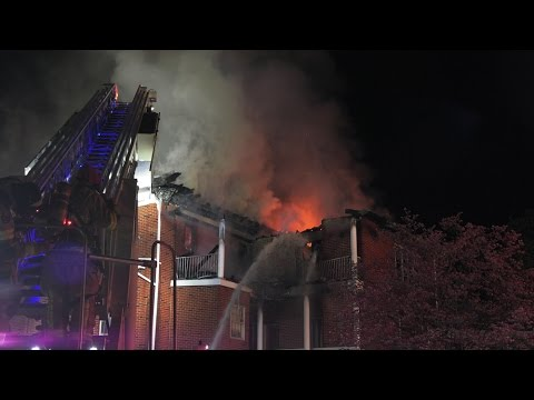 3-Alarm Fire at a Funeral Home  04/20/17