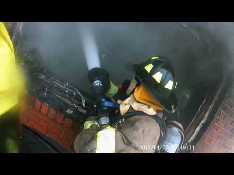 Georgia House Fire Helmet Cam