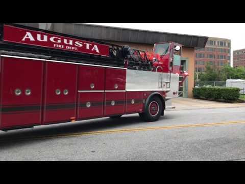 Augusta, GA Truck 1, Engine 3 Responding