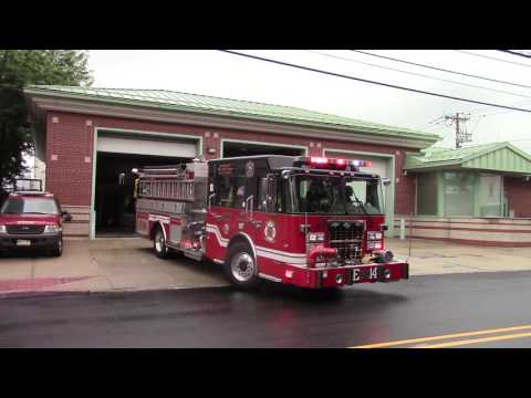 Jersey City Fire Department Engine 14 Ladder 7 Battalion 3 Responding