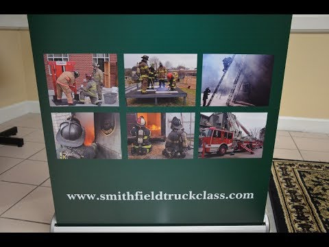 Smithfield VFD Truck Operations Class #6 2017