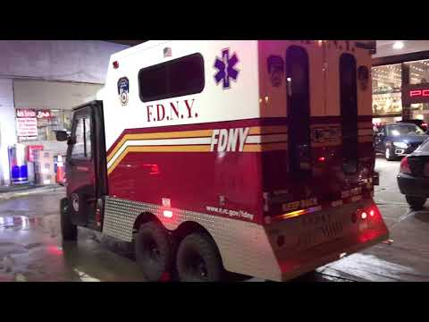 New FDNY EMS Polaris Times Square Enhancement Units