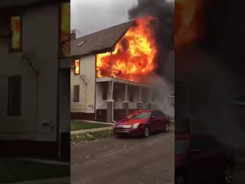 Hamtramck, Michigan House Fire