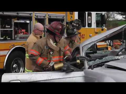 Extended operation at auto extrication, Catasauqua, PA 11/06/17