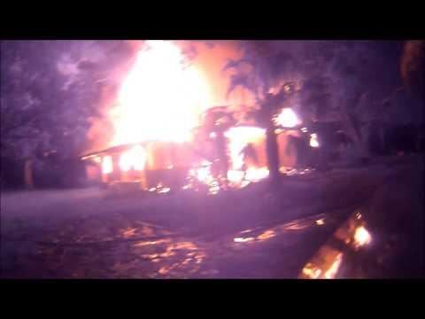 Rustin house fire helmet cam