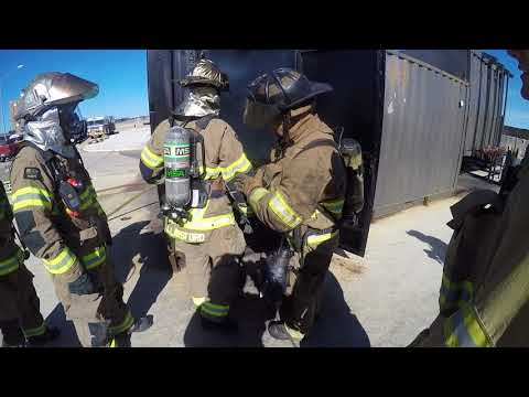 Sansom Park (TX) Fire Department Live Fire and Flashover Firefighter Training
