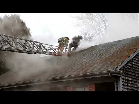 Firefighting: Acushnet, MA House Fire