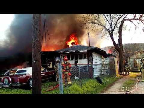 Houston Garage Fire