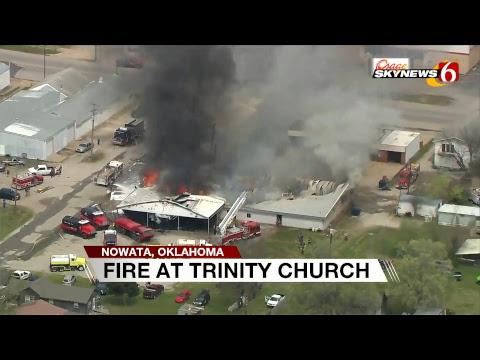 Nowata, OK Church Fire