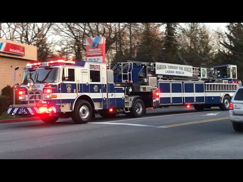 Manheim Township, PA Fire Rescue New Truck 204