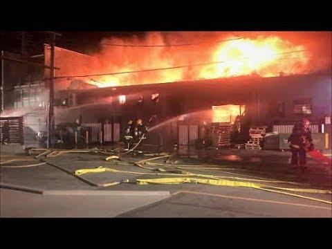 Vancouver Three-Alarm Fire