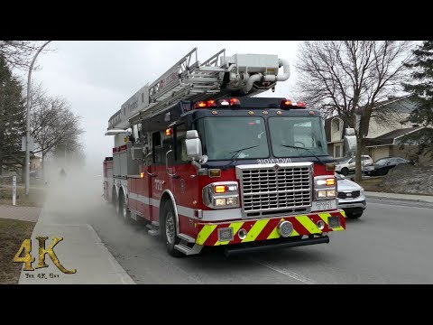 Pierrefonds, Quebec Building Fire