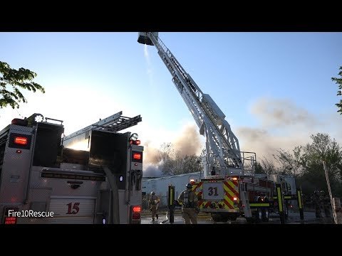 Tulsa Two-Alarm Building Fire