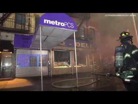 Harlem Four-Alarm Fire
