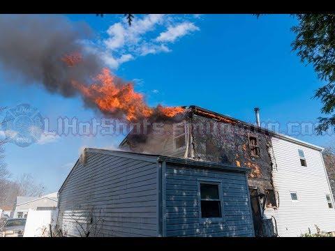 Mastic Beach, NY House Fire