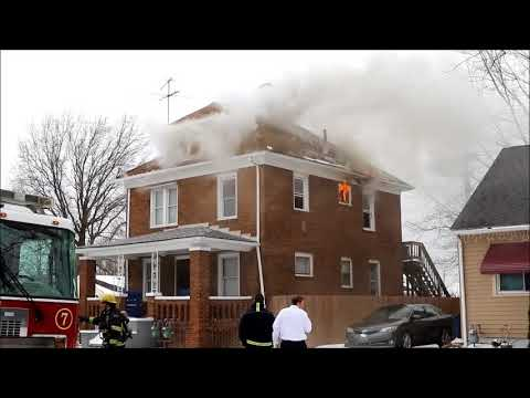 Firefighting: Lorain, OH House Fire