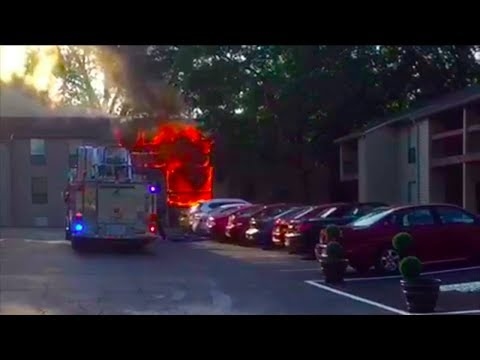 Maryland Heights, MO Apartment Fire