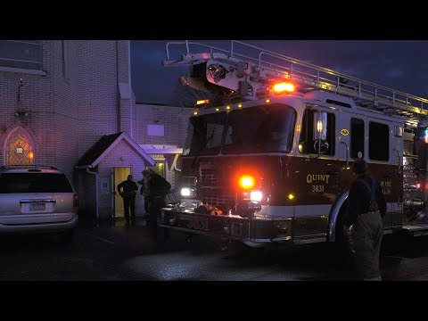 Fire Disrupts Voters at Pennsylvania Polling Station