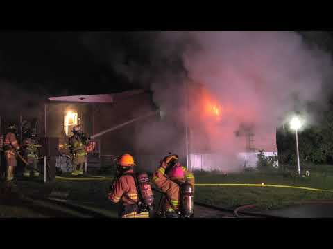 Possible arson at this mobile home fire in Pennsylvania